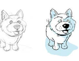 nº 14 pour crreate a cartoon illustration of my dog for a childrens book par mhoranin