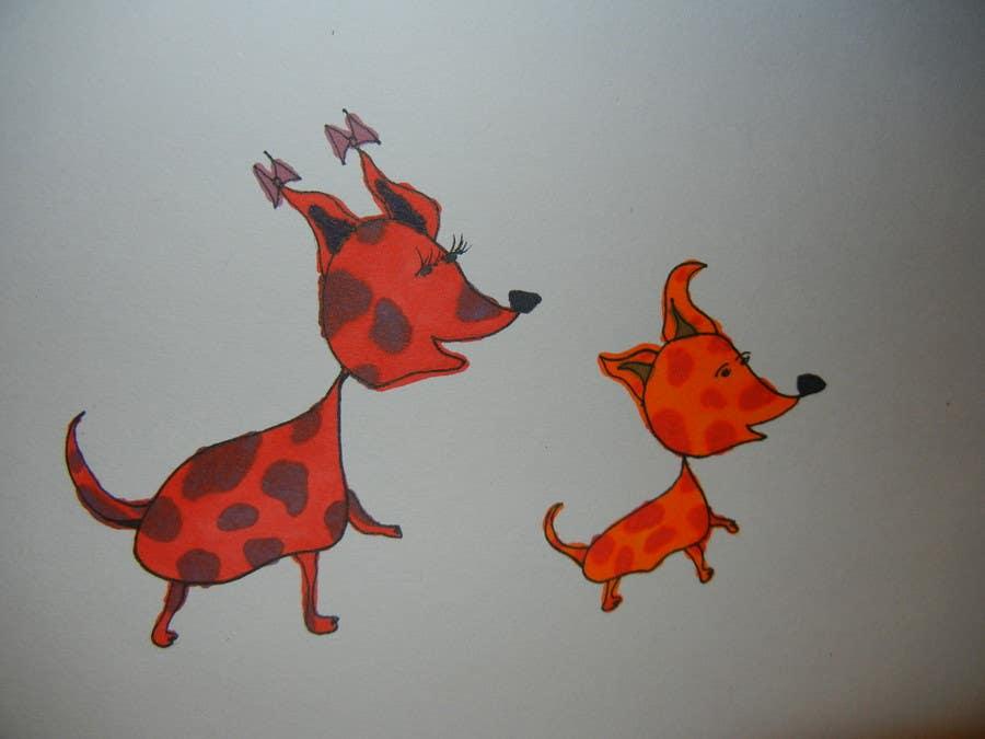 Inscrição nº 7 do Concurso para crreate a cartoon illustration of my dog for a childrens book