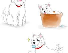 #33 for crreate a cartoon illustration of my dog for a childrens book by khoiruunisa