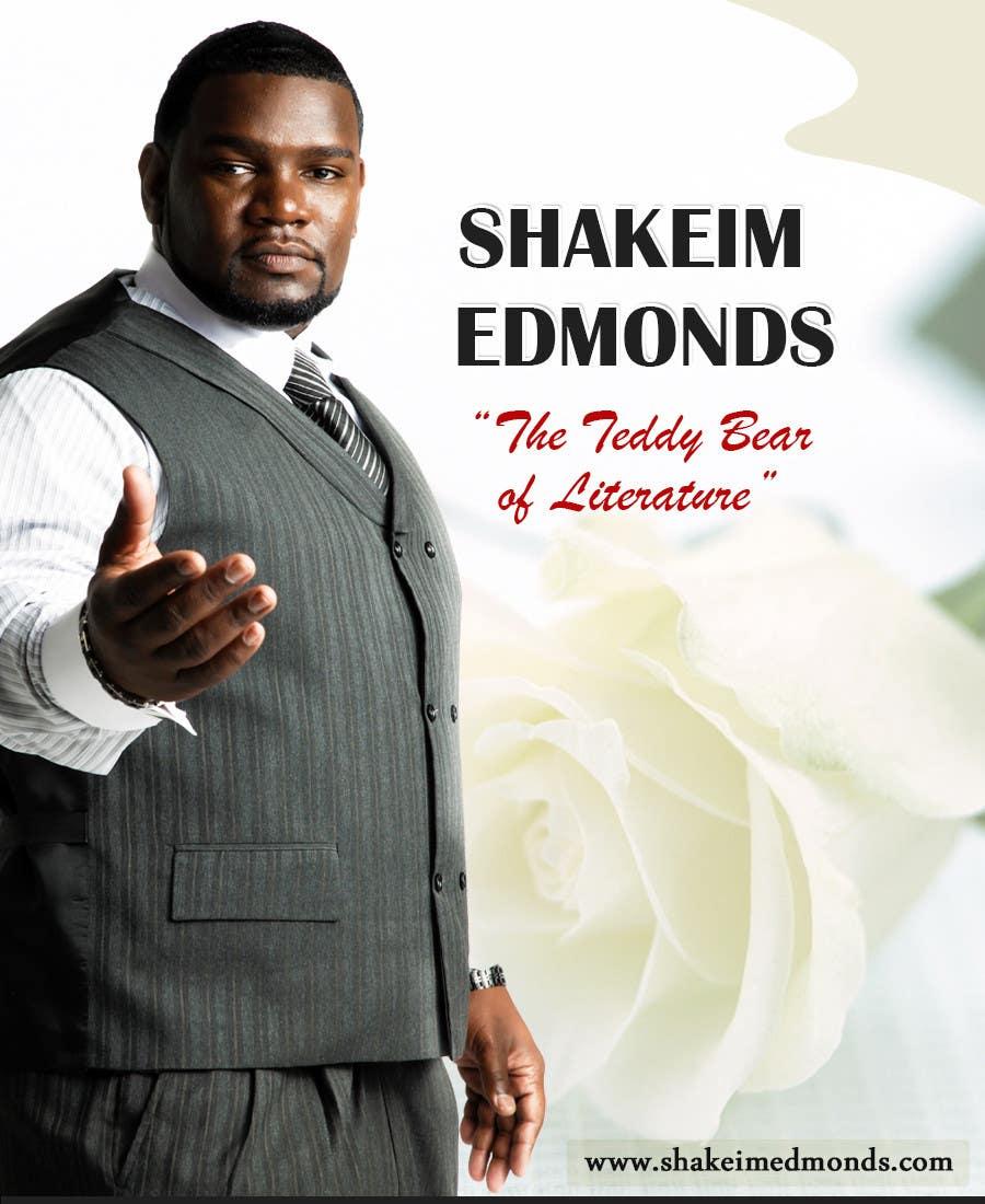 """Inscrição nº                                         49                                      do Concurso para                                         Design a Flyer for Author """"Shakeim Edmonds"""""""