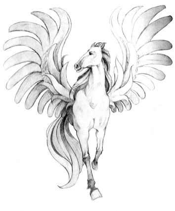 Inscrição nº                                         15                                      do Concurso para                                         Draw a Pegasus