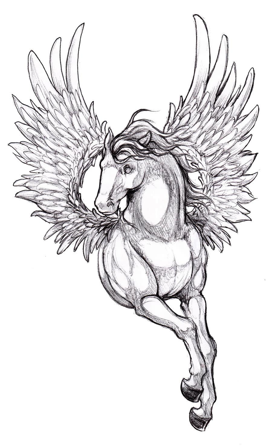 Kilpailutyö #10 kilpailussa Draw a Pegasus