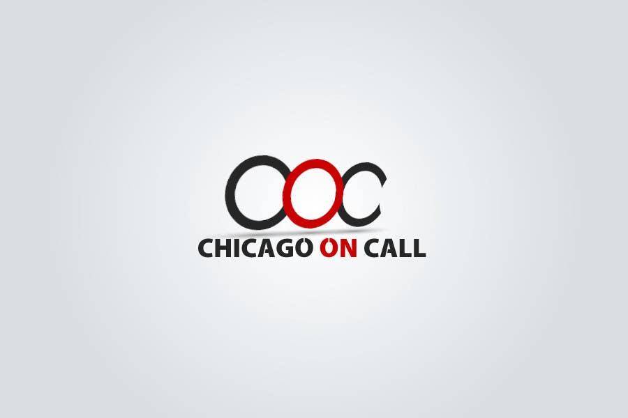Kilpailutyö #223 kilpailussa Logo Design for Chicago On Call