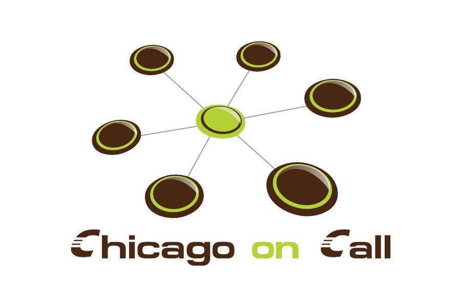 Kilpailutyö #286 kilpailussa Logo Design for Chicago On Call