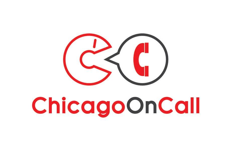 Kilpailutyö #231 kilpailussa Logo Design for Chicago On Call