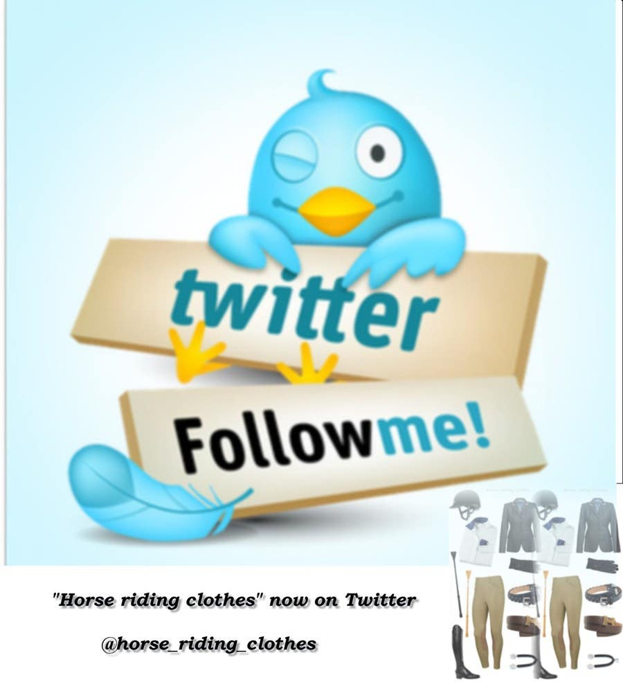 Penyertaan Peraduan #5 untuk Build me a Twitter database followers for  my horse riding clothes
