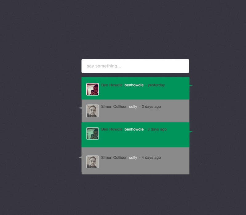 User Interface / IA Contest Entry #6 for Chat App User Interface