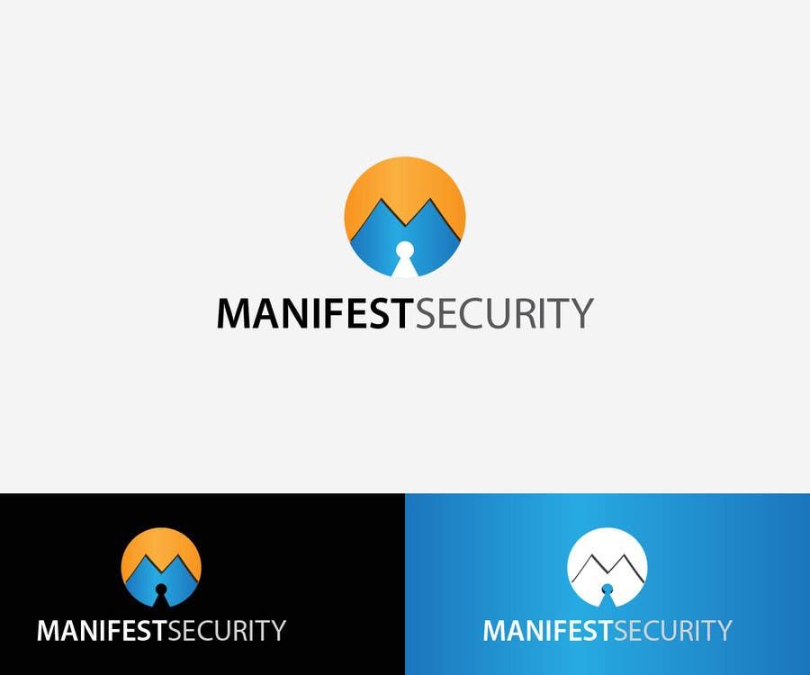 """""""Manifest Security"""" Logo için 25 numaralı Yarışma Girdisi"""