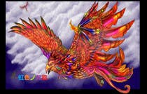 Contest Entry #11 for Looking for someone, who can draw a phoenix in spectral colours for profile picture