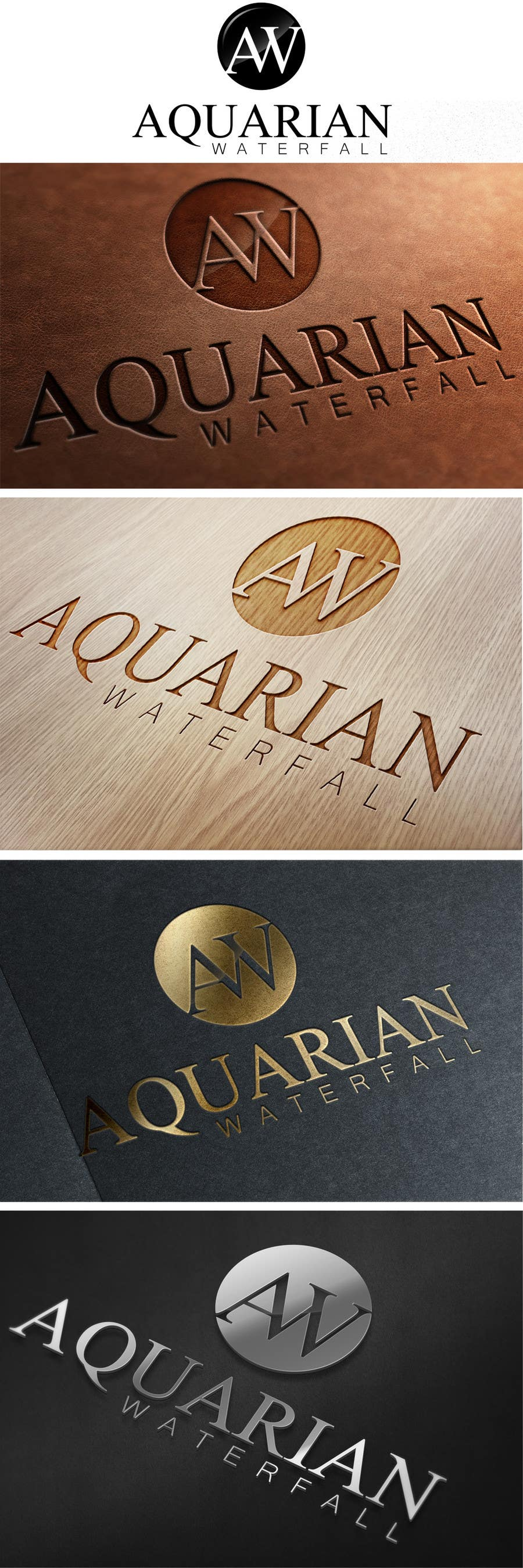 Proposition n°123 du concours Design a Logo for Aquarian Waterfall