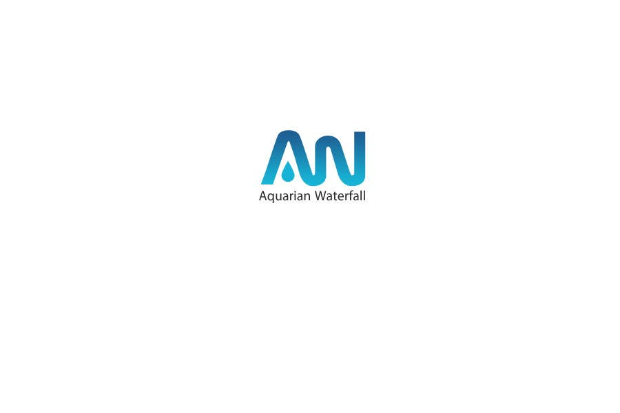 #32 for Design a Logo for Aquarian Waterfall by commharm