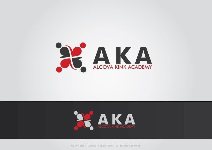 #655 for Design a logo for AKA Alcova Kink Academy by mariusfechete