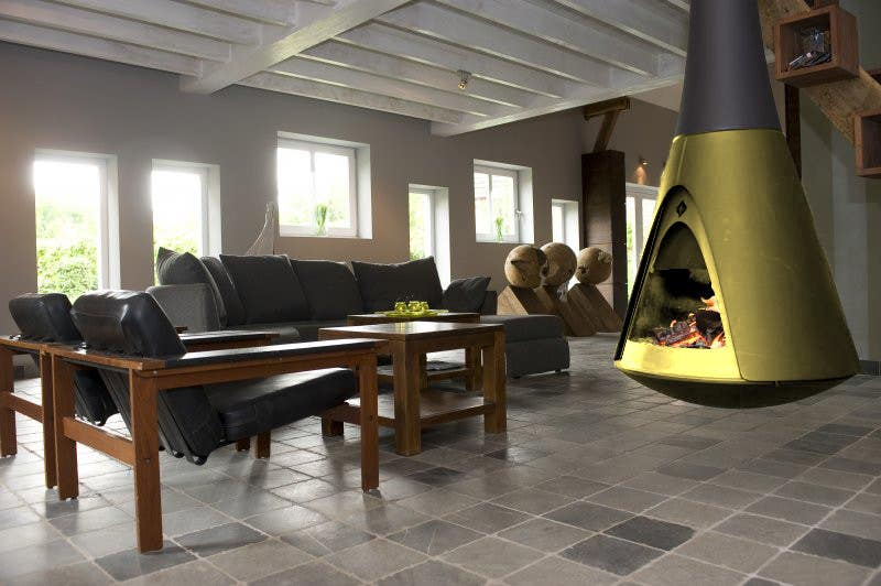Proposition n°23 du concours Need to Design a Gold Version of a Fireplace