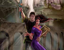 #27 untuk Fantasy Novel Coverpage Illustration oleh Dalibor021