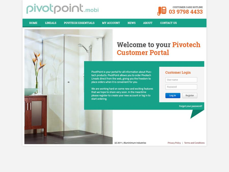 #52 for Design a Website Mockup for revitalization of our B2B customer resource by thaihiep