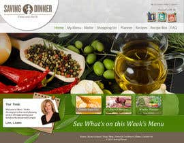 #37 para Design a Website Mockup for our Premium Menu-Mailer website. por grafixeu