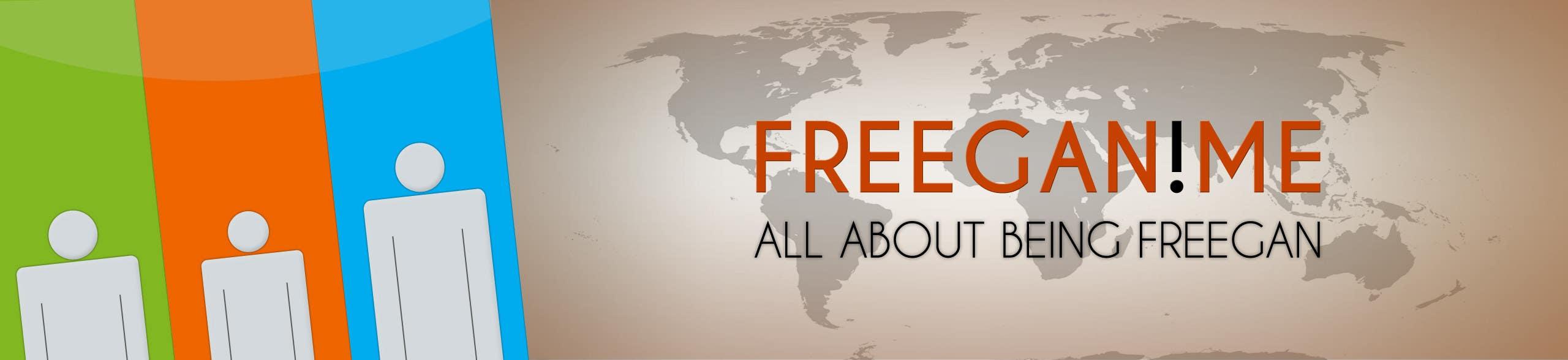 Inscrição nº                                         33                                      do Concurso para                                         Freegan website banner