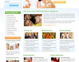 #1 for Website Design for Happy Family e-zine af rsquareweb