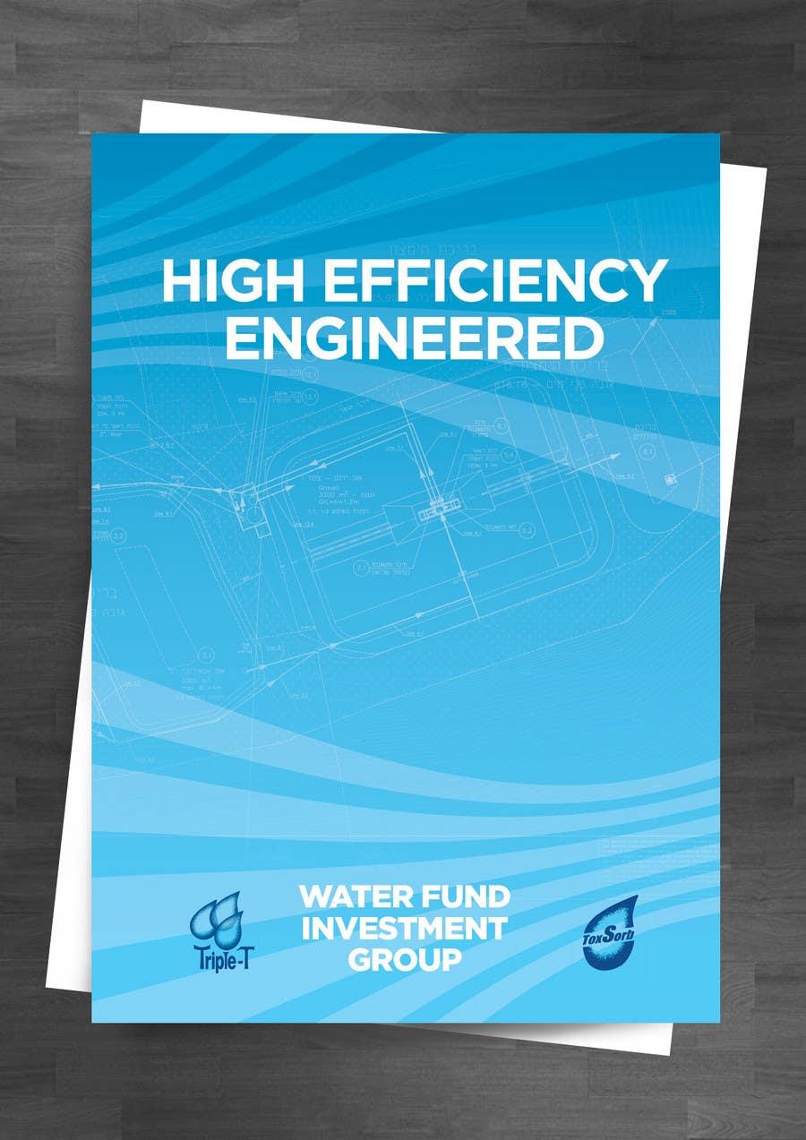 Konkurrenceindlæg #                                        100                                      for                                         Folder Graphic Design for Water Technology Exhibition