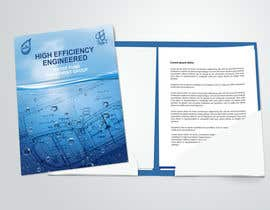 #87 untuk Folder Graphic Design for Water Technology Exhibition oleh StrujacAlexandru