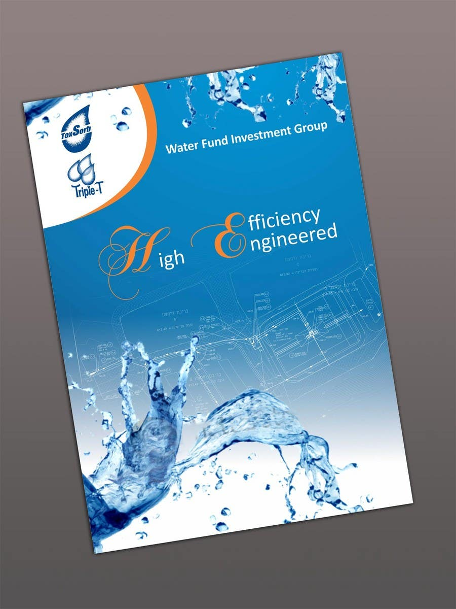 Contest Entry #102 for Folder Graphic Design for Water Technology Exhibition