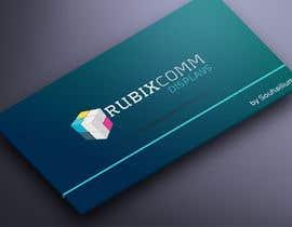 nº 12 pour Design logo Rubix Comm par souhailium
