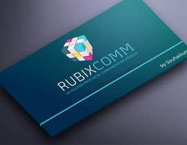 nº 18 pour Design logo Rubix Comm par souhailium