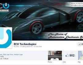 #22 for Design a Facebook landing page for ECU Technologies af RockStar95