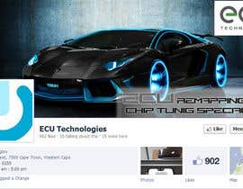 #17 for Design a Facebook landing page for ECU Technologies af jinupeter