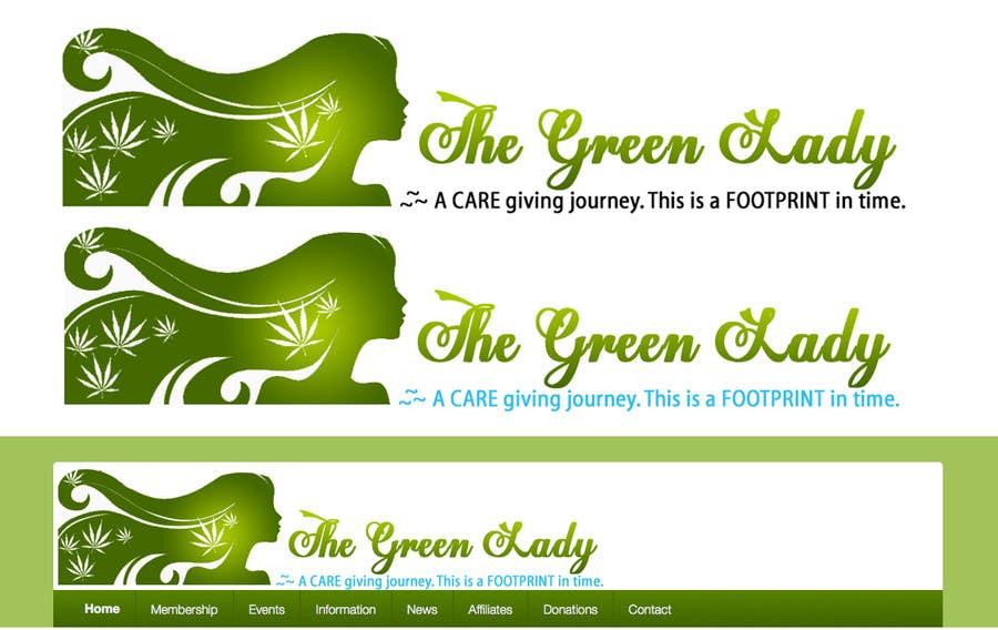 #162 for Design a Logo for thegreenlady.org by shilpakhemka