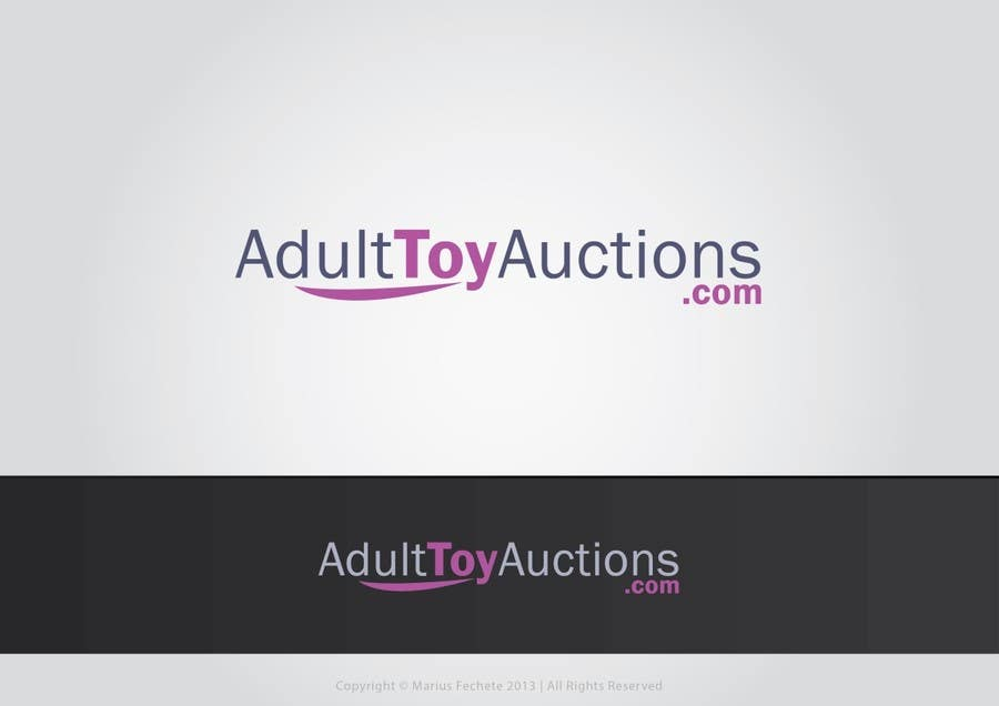 #55 for Adult Toy Auctions new Logo by mariusfechete