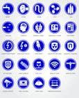 Graphic Design Inscrição do Concurso Nº12 para Icons to represent Architectural Design Criteria