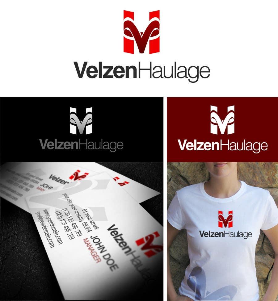 Конкурсная заявка №195 для Logo Design for Velzen Haulage
