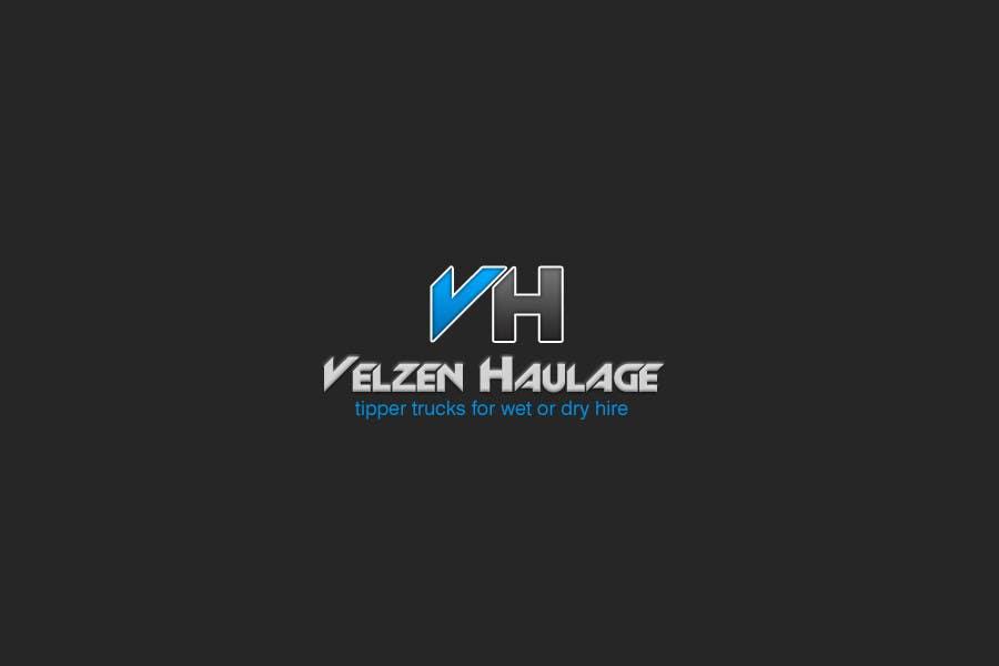 Konkurrenceindlæg #354 for Logo Design for Velzen Haulage