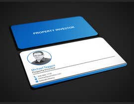 #28 for Personal Business Cards - design for a professional investor af dnoman20
