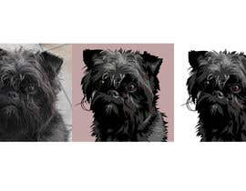 #13 for Affenpinscher dog converted to Pop Art af elenabsl