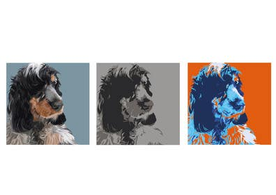 #3 for Affenpinscher dog converted to Pop Art by anamiruna