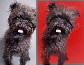 #22 for Affenpinscher dog converted to Pop Art by bunakiddz
