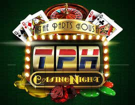 #73 for Design a Las Vegas/Casino Night logo for an Open House by kiekoomonster