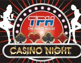 #54 untuk Design a Las Vegas/Casino Night logo for an Open House oleh ariekenola