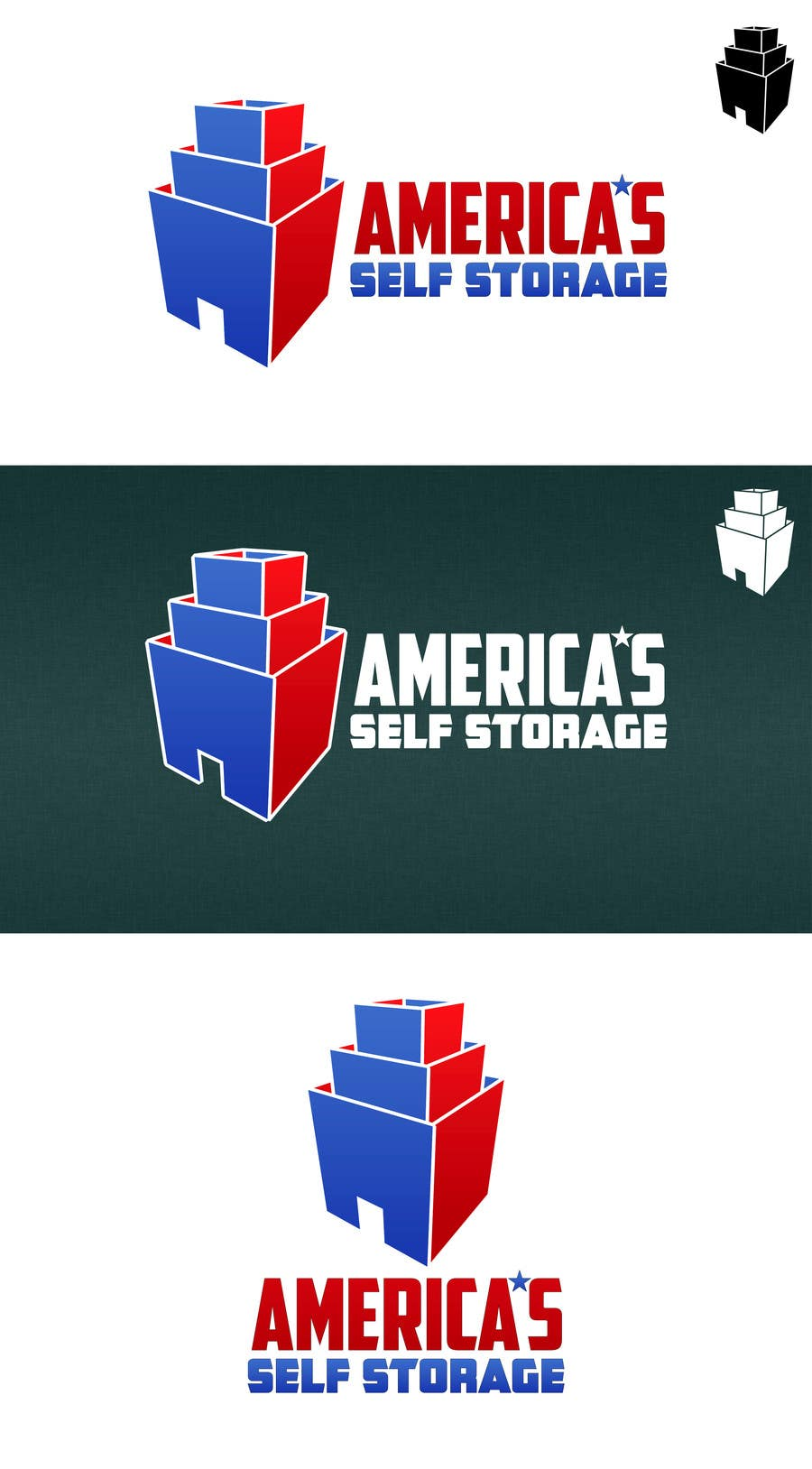 #69 for Design a Logo for a self storage facility by HallidayBooks
