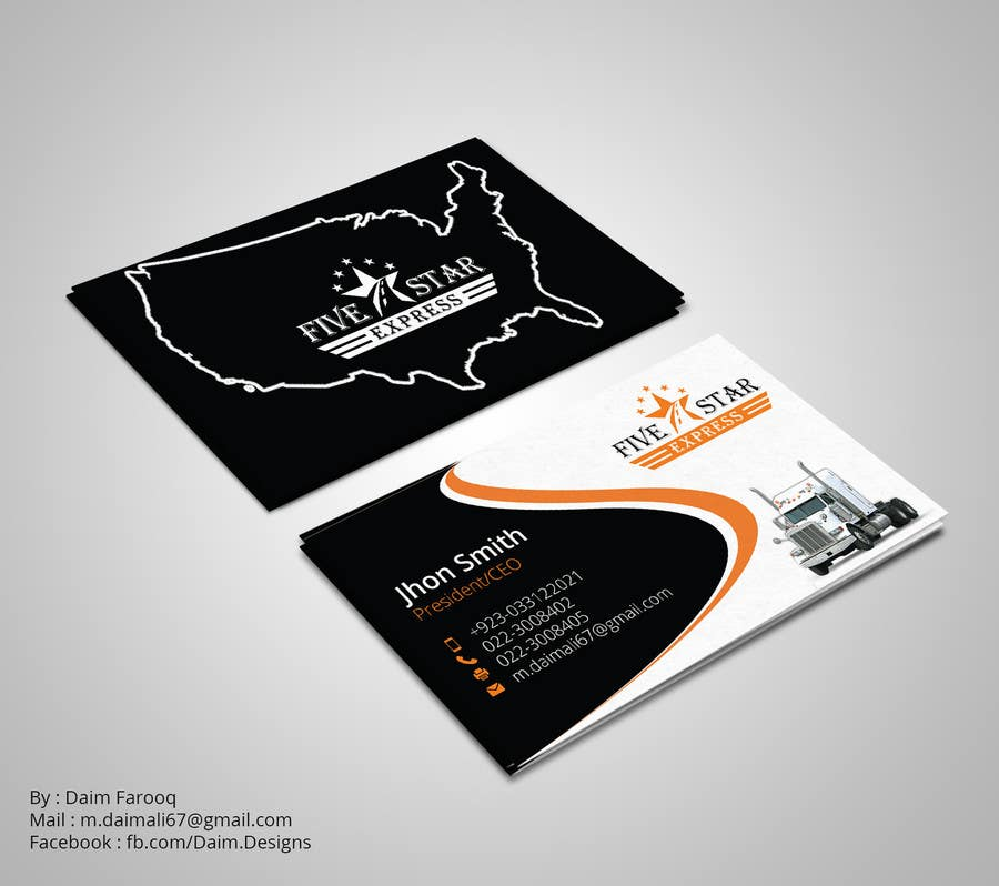 Entry #106 by DaimDesigns for Brokerage business cards for \
