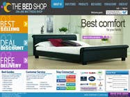 #18 for Website Design for The Bed Shop (Online Furniture Retailer) by katnigan08