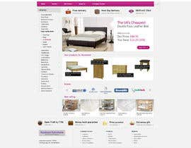 #26 pentru Website Design for The Bed Shop (Online Furniture Retailer) de către tommasz