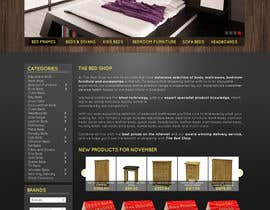#27 pentru Website Design for The Bed Shop (Online Furniture Retailer) de către lataraaa