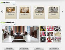 #24 pentru Website Design for The Bed Shop (Online Furniture Retailer) de către adez78