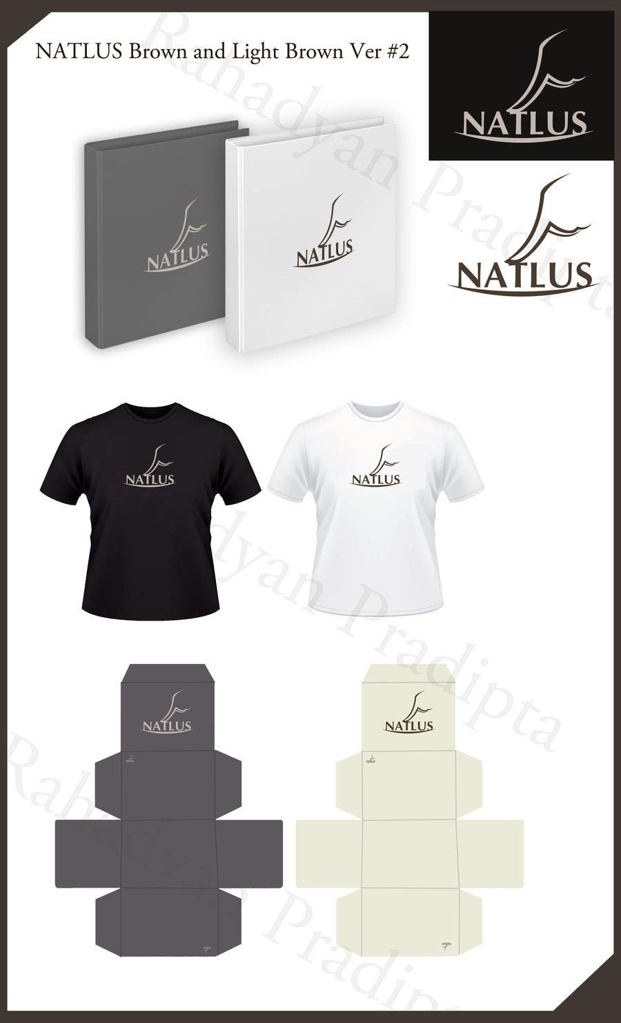 #79 for Design a logo & complete identity for NATLUS, by rahadyanpradipta