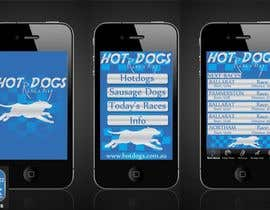 nº 66 pour Graphic Design for Hotdogs racing par b0bby123