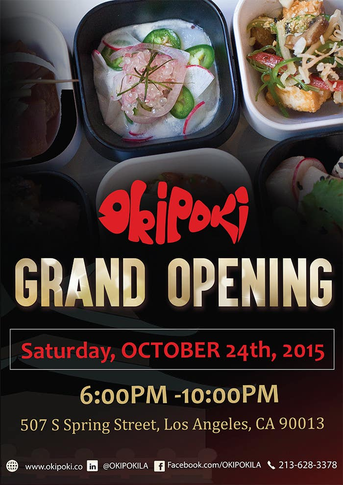 Entry #9 By Jassna For Design Restaurant Grand Opening Flyer
