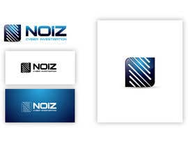 #240 para Logo Design for Noiz Cyber Investigation por maidenbrands